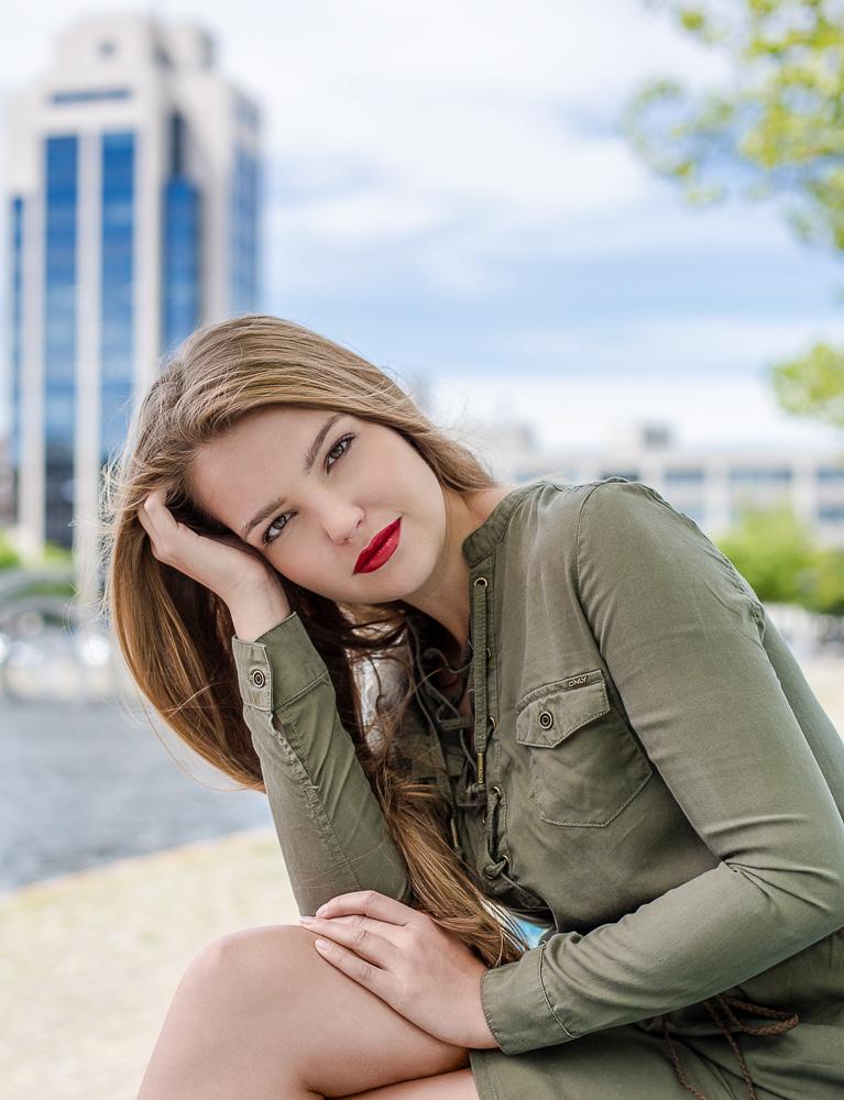 Model voor één dag in Zoetermeer